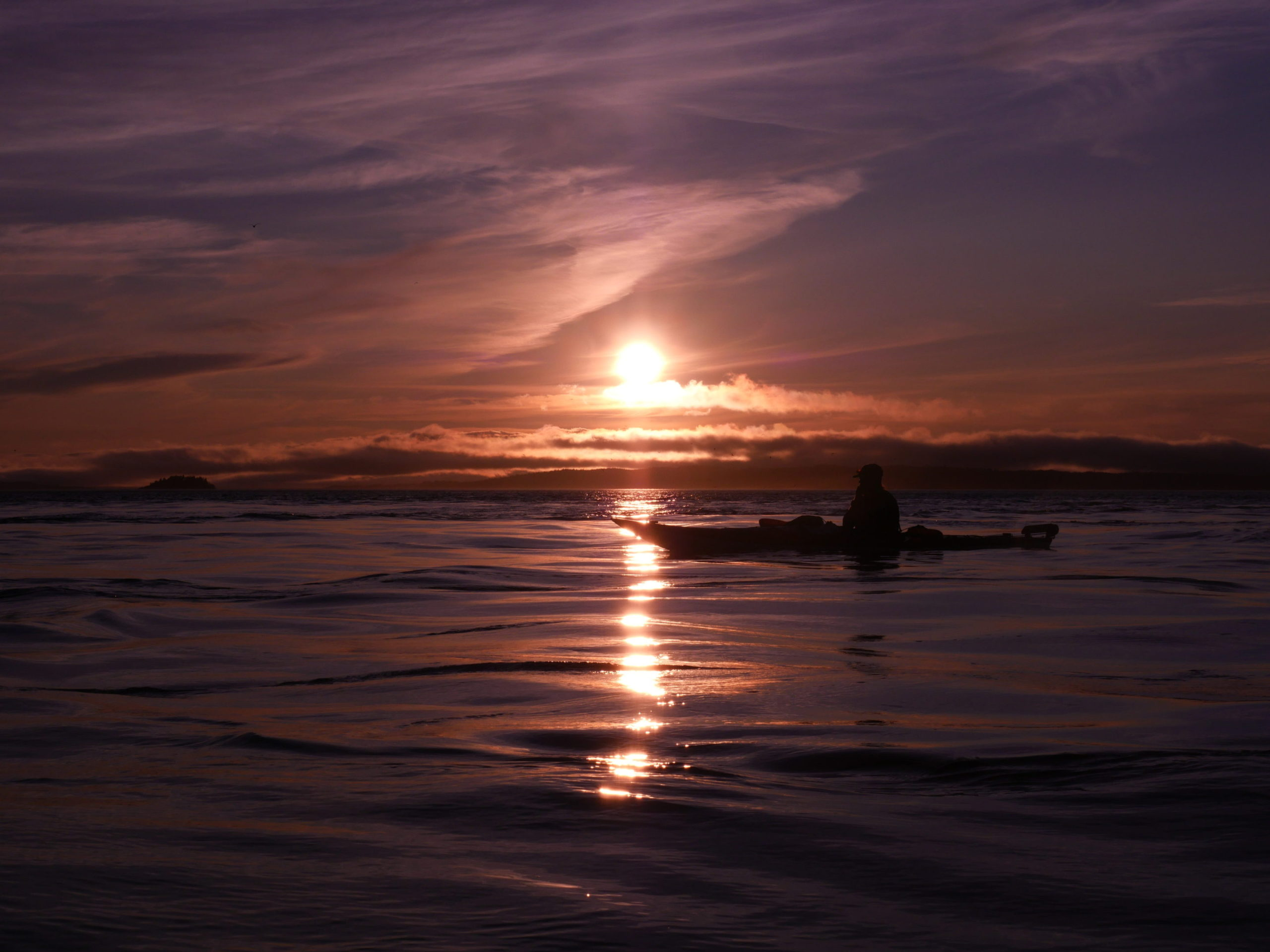 2 Hour Guided Sea Kayaking Evening Trip